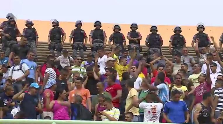 O exercício tem por objetivo aprimorar as forças de segurança através da simulação de ocorrências (Foto: Amazônia TV)