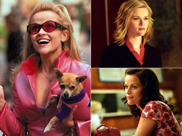 Reese Witherspoon já adotou diferentes visuais para cada personagem (Foto: Divulgação / Reprodução)