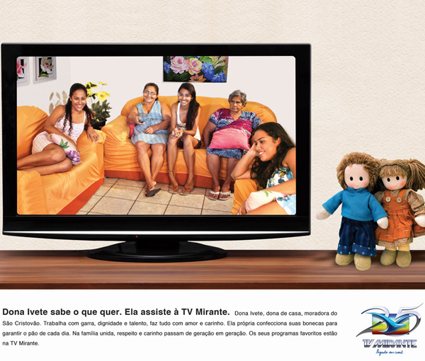 campanha institucional 25 anos tv mirante (Foto: tv mirante)