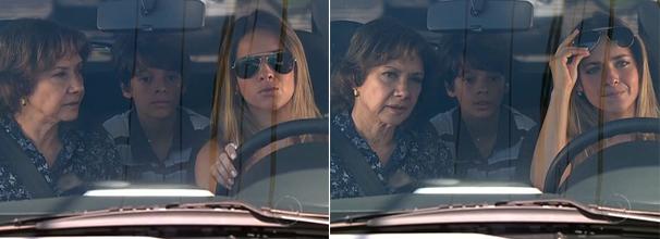 Óculos marrom de Beatriz (Monique Alfradique) chamou atenção dos telespectadores (Foto: Divulgação/TV Globo)