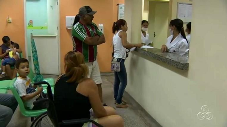 Serviço de pronto atendimento de urgência e emergência (Foto: Amazônia TV)