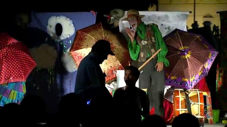 Um espetáculo para famílias, assim define o grupo Metamorfose (Foto: Amazônia TV)