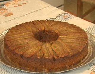 Torta de banana (Foto: RPC TV)