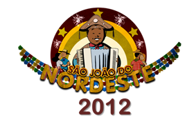 logo sao jo&#227;o do nordeste 2012 (Foto: tv globo nordeste)