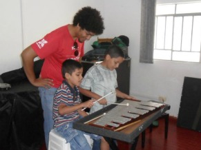 Criança Esperança: Projeto Ciranda - Núcleo de Percussão (Foto: Divulgação)