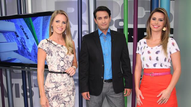Revista RPC - Paola, Odilon e Daiane (Foto: Divulgação/RPC TV)