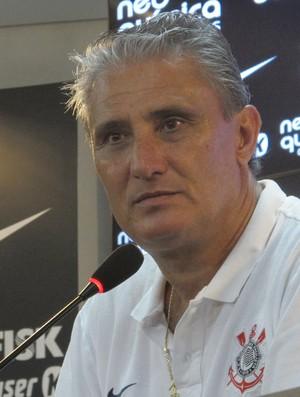 Tite quer escalar titulares contra o Palmeiras (Foto: Gustavo Serbonchini / Divulgação: Globoesporte.com)