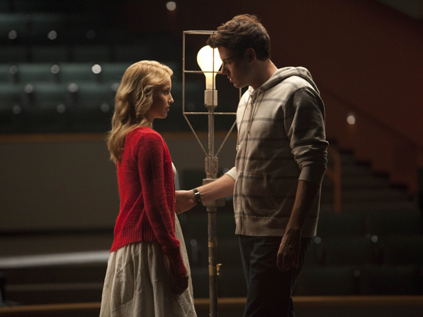 Glee - E Finn tenta reconquistar a ex-namorada (Foto: Divulgação)