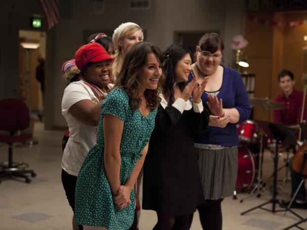 Glee - Novas Direções entra no clima do Dia dos Namorados (Foto: Divulgação TV Globo)
