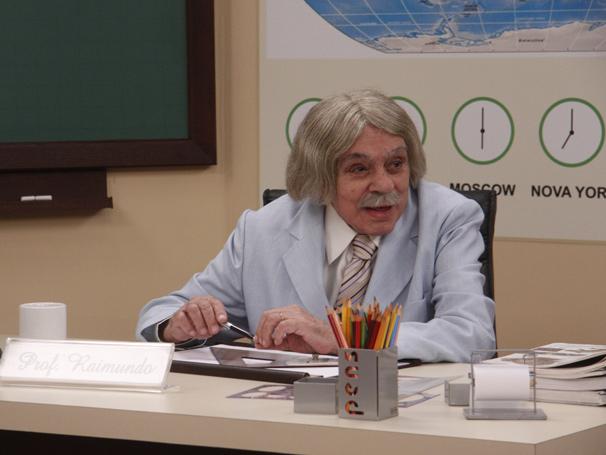 Chico como Professor Ramindo (Foto: Divulgação/ TV Globo)
