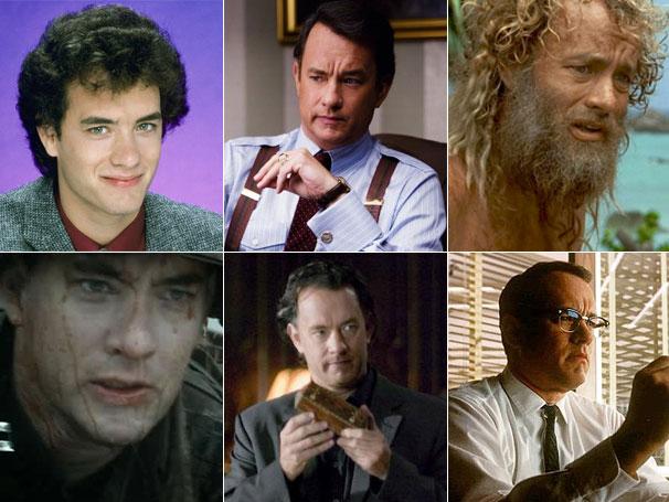 Tom Hanks já mudou de visual diversas vezes para viver seus personagens no cinema (Foto: Divulgação / Reprodução)