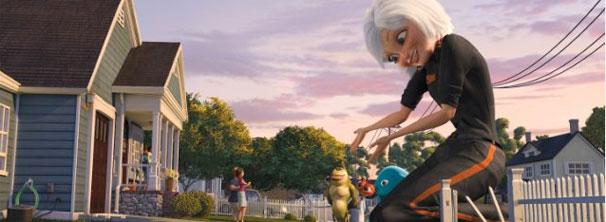 Susan estava prestes a se casar quando foi atingida por meteorito e virou uma gigante (Foto: Divulgação / Reprodução)