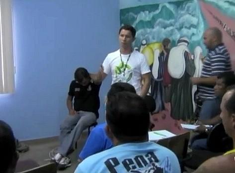 Os empresários estão otimistas com a implantação do polo moveleiro (Foto: Amazônia TV)