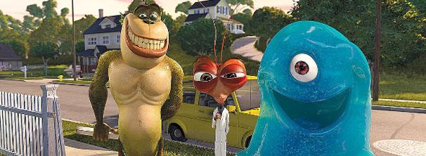 Monstros ganham voz de Hugh Laurie, Seth Rogen e Will Arnett (Foto: Divulgação / Reprodução)