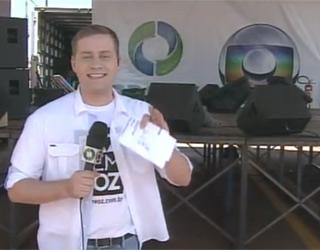 Abre RPC TV na Paraça Cascavel (Foto: RPC TV)