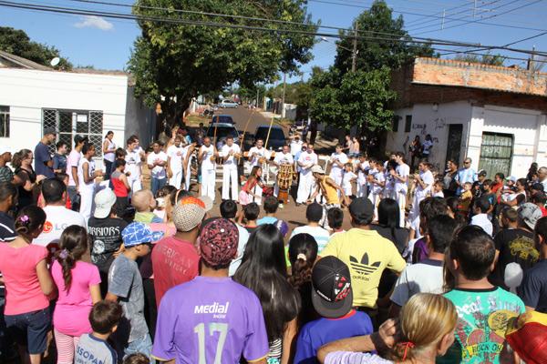 RPC TV na Praça Cascavel 4 (Foto: Gustavo Henrique/Divulgação)