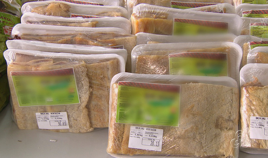 """""""Bacalhau da Amazônia"""" é fabricado em Maraã, no Amazonas (Foto: Jornal do Amazonas)"""