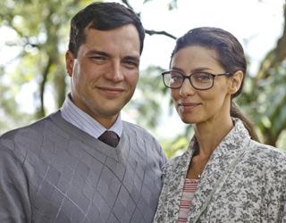 Daniel Boaventura e Maria Fernanda Candido As Brasileiras (Foto: TV GLOBO / Ique Esteves)