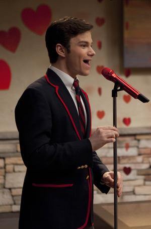 Clima de romance na Rádio Glee (Foto: Divulgação)