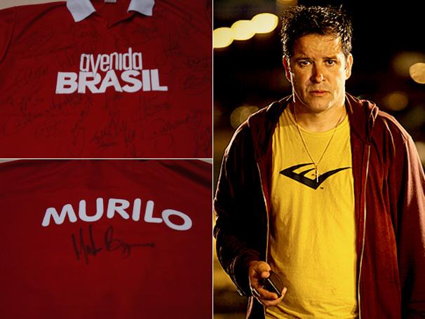 Concurso Cultural dá camisa autografada por Murilo Benício e pelo time do Flamengo (Foto: Divulgação)