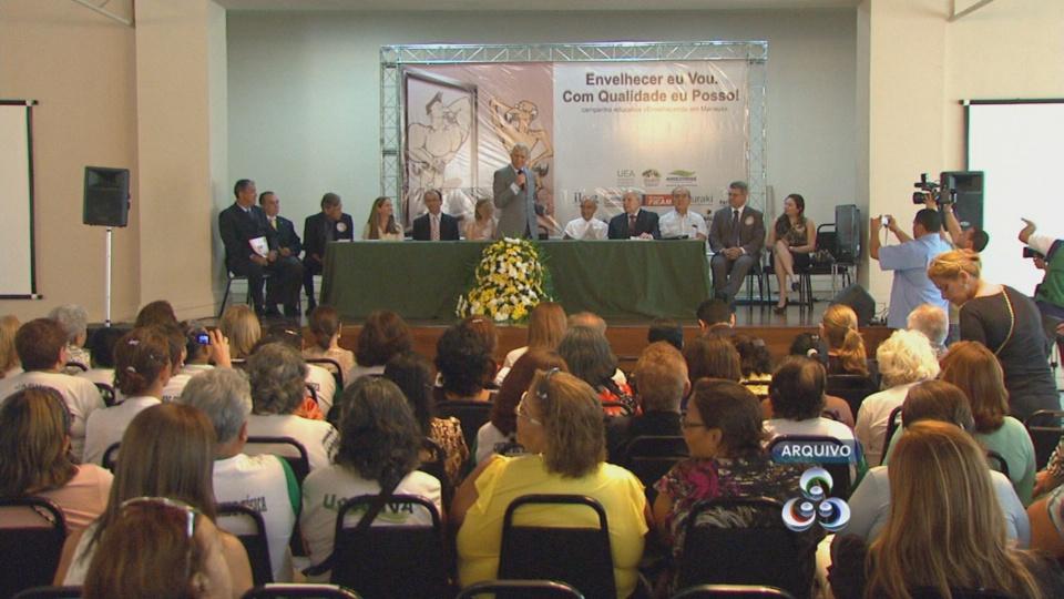 Projeto auxilia na qualidade de vida dos idosos (Foto: Amazônia TV)