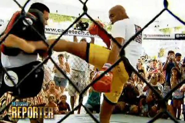 Anderson Silva (Foto: Divulgação/RPC TV)