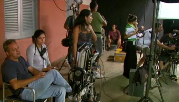 Gravações de filme de Luiz Gonzaga mudam a rotina de Passa Quatro (Foto: Reprodução)