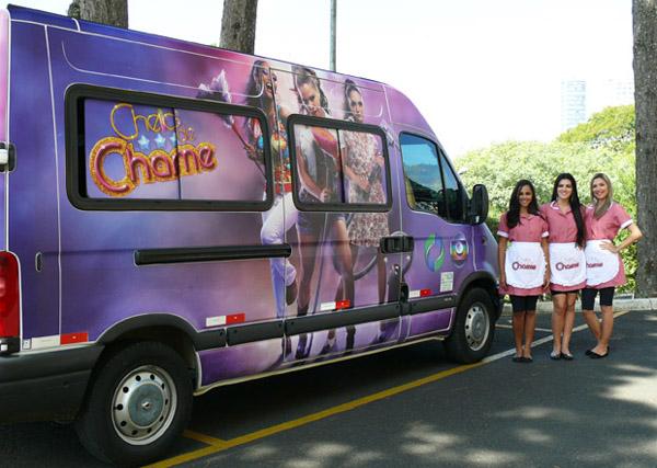 Lançamento Cheias de Charme (Foto: Jean Paul/RPC TV)