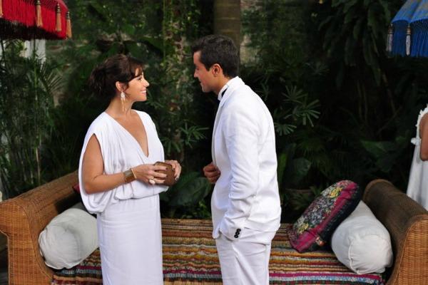 Cláudia (Giovanna Antonelli) com Vicente (Ricardo Pereira) (Foto: TV Globo/Estevam Avellar)