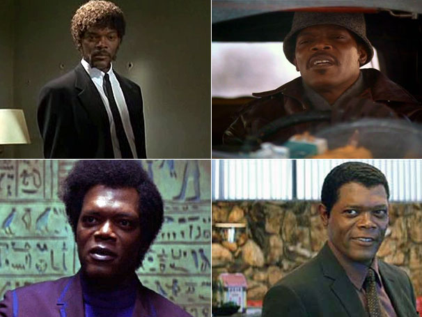 As várias faces de Samuel L. Jackson (Foto: Divulgação / Reprodução)