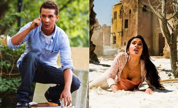 Shia LaBeouf e Megan Fox estão na sequência 'Transformers: A Vingança dos Derrotados' (Foto: Divulgação / Reprodução)