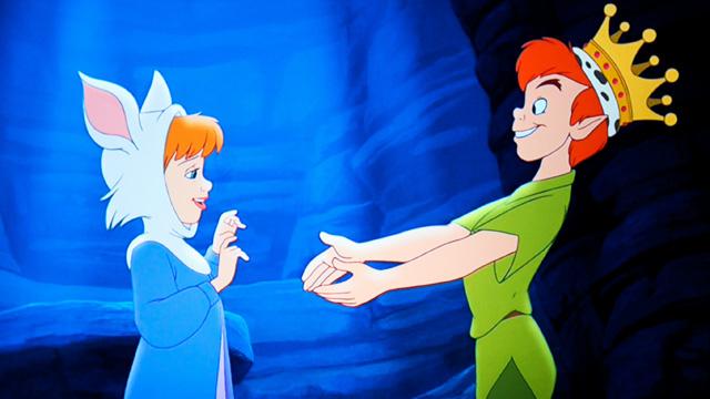Peter Pan, De Volta à Terra do Nunca