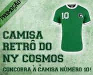 Camisa Retrô NY Cosmos