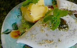 prato com tapioca