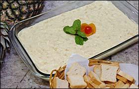 Patê Sonho de Abacaxi | Doces e sobremesas > Receitas de Sonho
