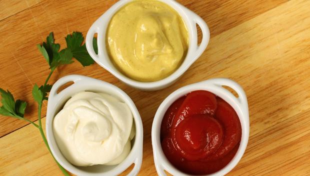Resultado de imagem para ketchup e maionese