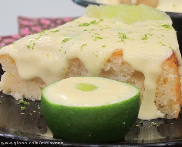 Bolo De Iogurte Com Limão | Tortas e bolos > Receitas de Bolo de Limão | Mais Você - Receitas Gshow