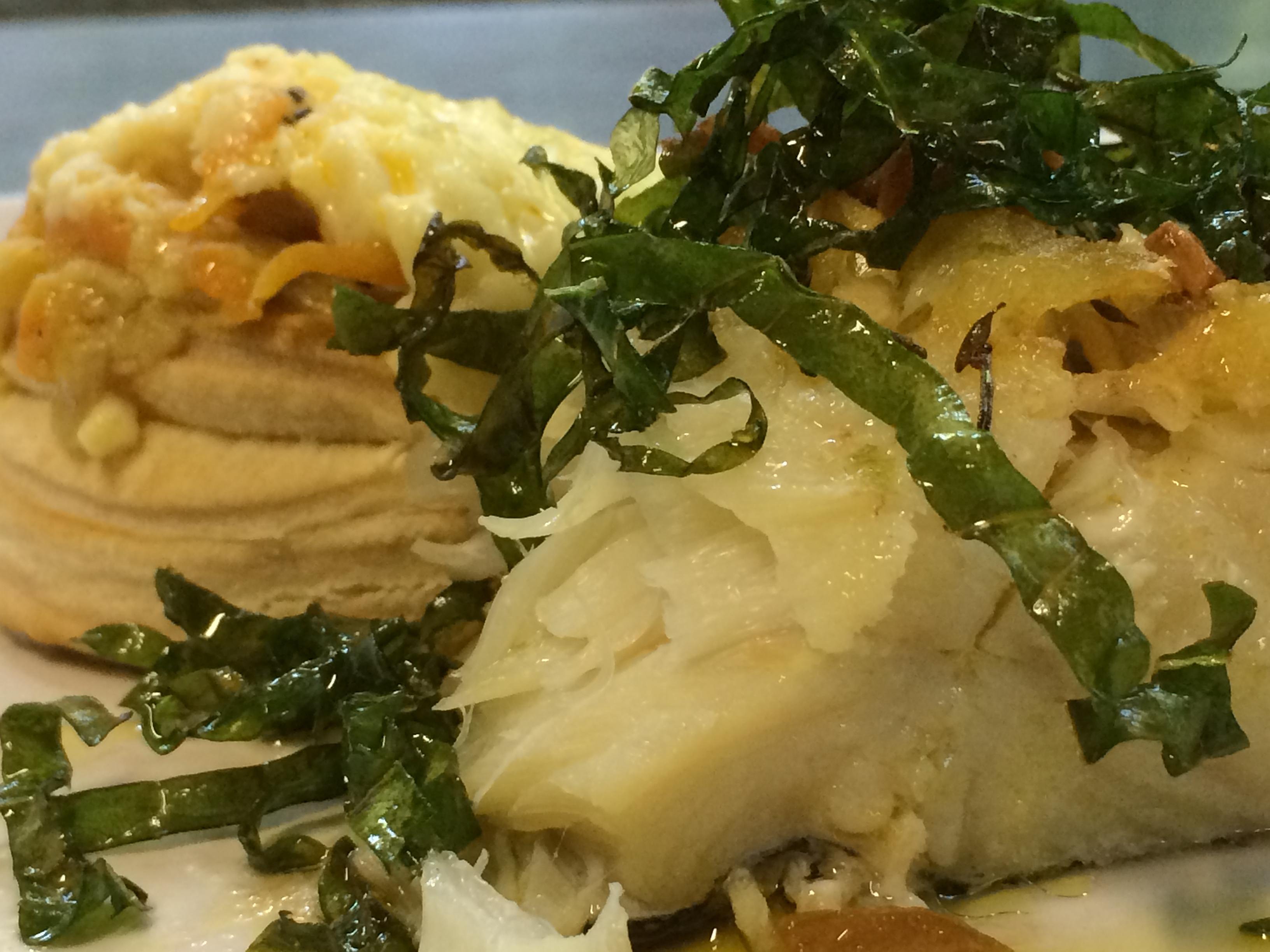 Bacalhau com camarão espiritual