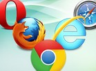 Chrome, Firefox...