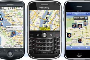 Google Latitude roda em diversas plataformas de celular (Foto: Divulgação)