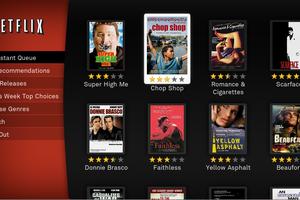 Netflix, Hulu, Blockbuster e iTunes Store são alguns dos serviços de vídeo sob demanda que podem dar fim às locadoras (Foto: Reprodução)