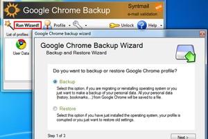 Criação de backup do perfil de usuário do Google Chrome (Foto: Reprodução/TechTudo)