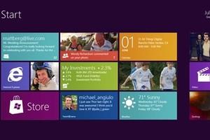 Tela inicial do Windows 8 (Foto: Divulgação)