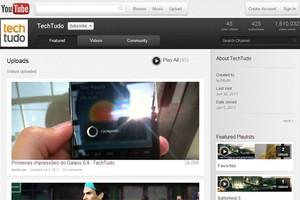 Canal de vídeos do TechTudo no YouTube (Foto: Reprodução)