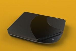 Conceito de design do PlayStation 4 (Foto: Divulgação)