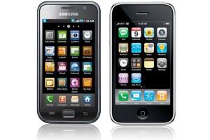 Galaxy S e iPhone (Foto: Reprodução)