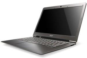 Ultrabook da Acer feito com fibra de vidro. (Foto: Divulgação)