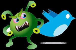Imagem para vírus no twitter (Foto: Divulgação)