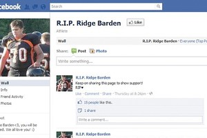 Ridge Barden (Foto: Facebook)