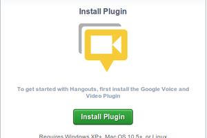 Instalação do Plugin para realizar hangouts no Google+ (Foto: Reprodução)